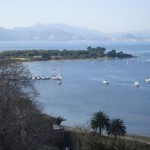 Blick vom Fort St Marguerite