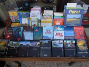 der örtliche Buchhandel ist vorbereitet