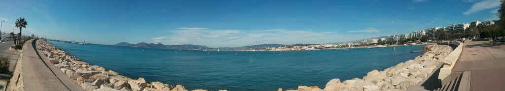 Die Bucht von Cannes