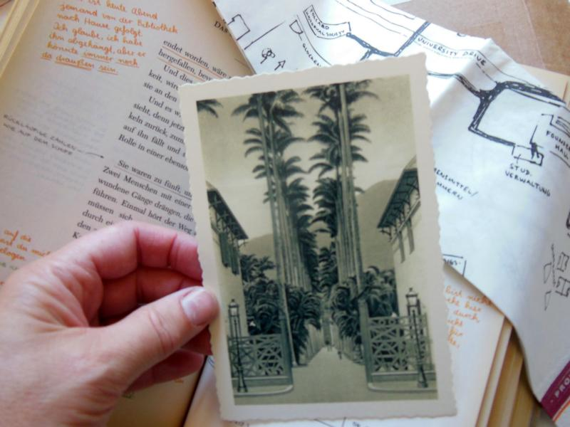 Beilage Postkarte
