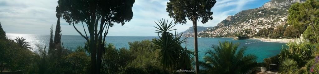 Blick von der Villa E1027