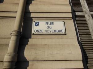 rue du onze novembre