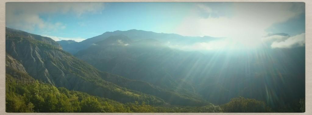 kleines Panorama am Morgen