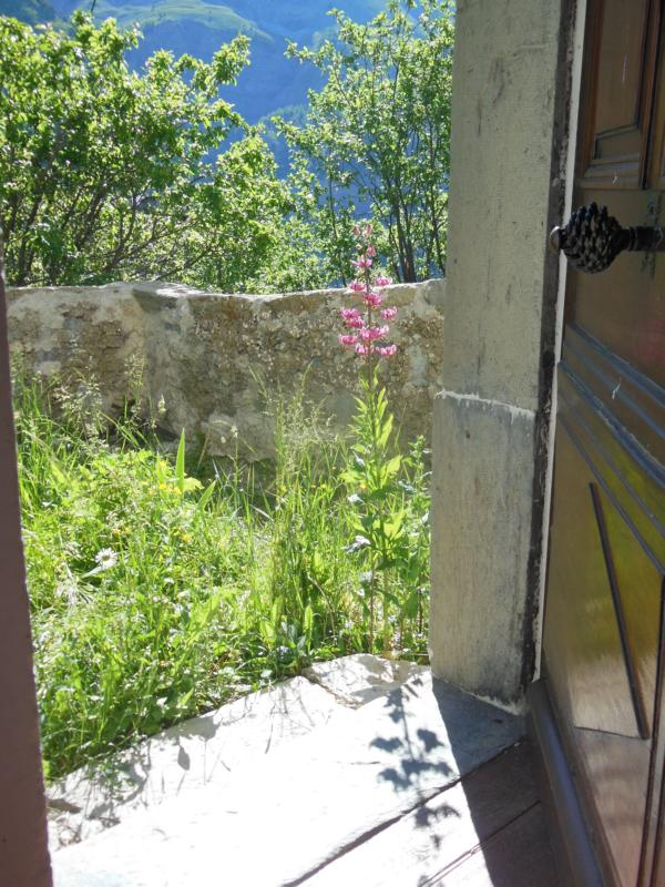 Lilien vor der Tür