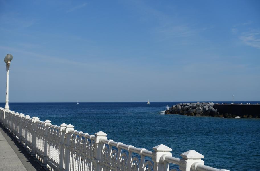 das Meer in San Sebastian
