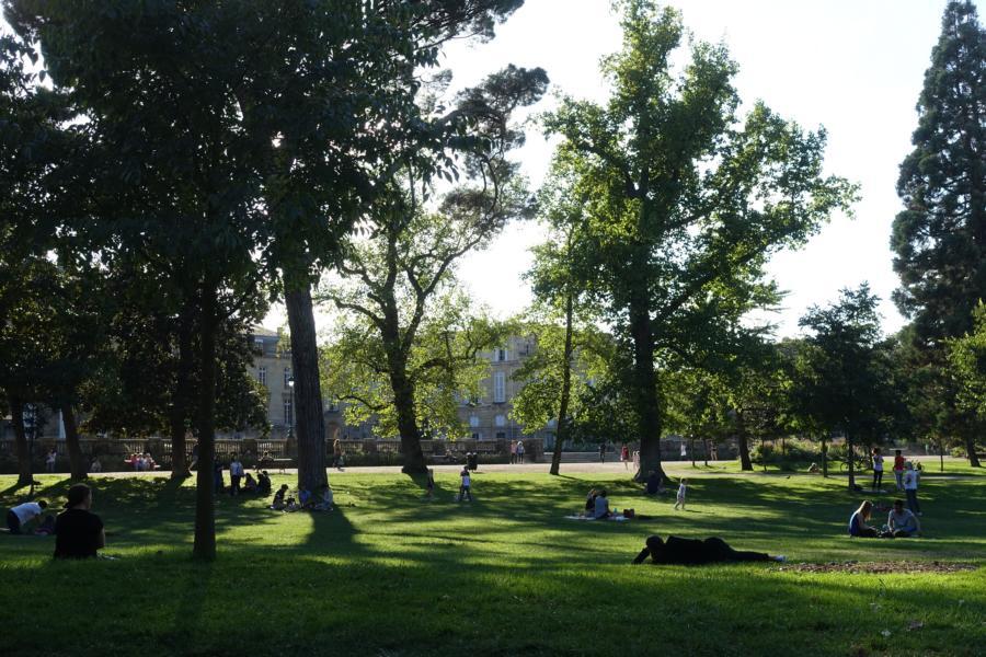 Park in Bordeaux