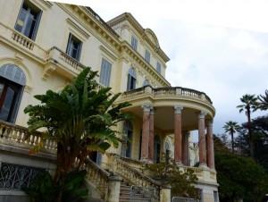 Villa Rothschild Blick Garten