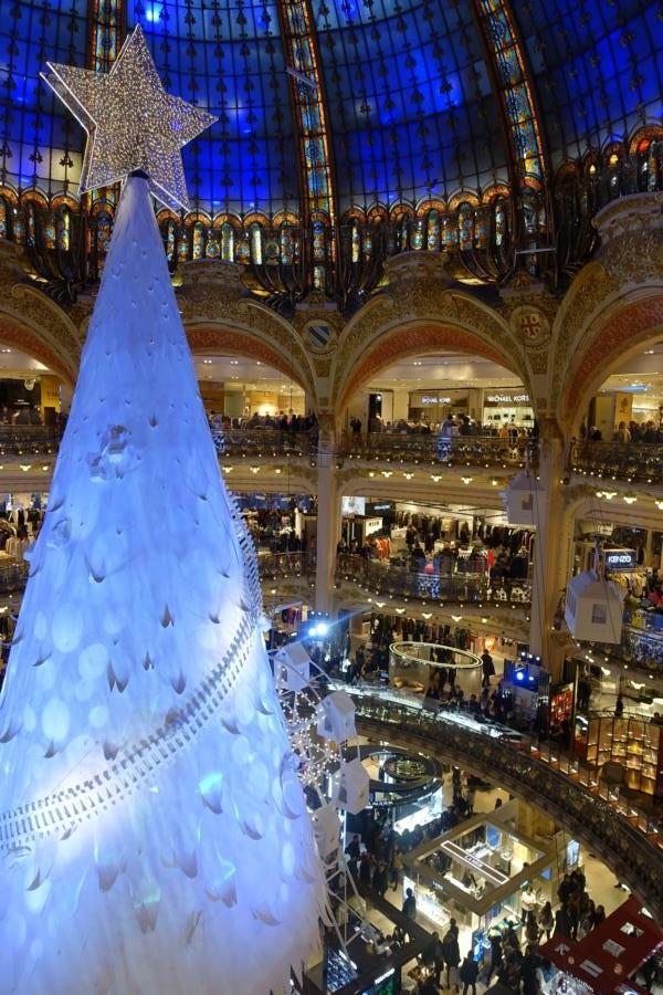 Weihnachtsbaum Galerie Lafayette