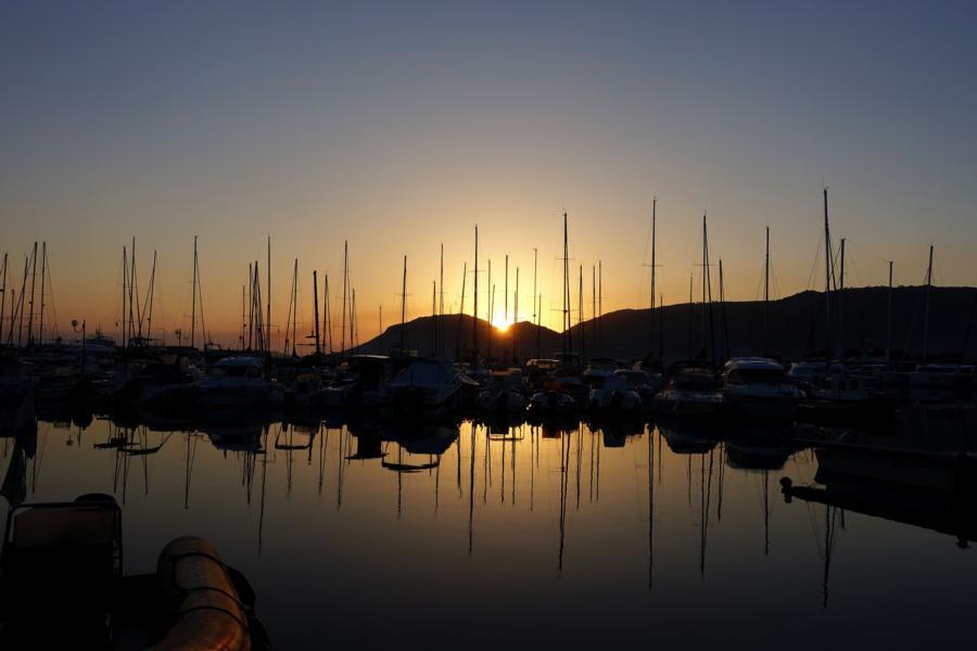 Sonnenaufgang Port Vecchio